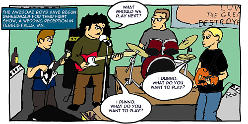 Nowhere Band Strip #15 Panel 1
