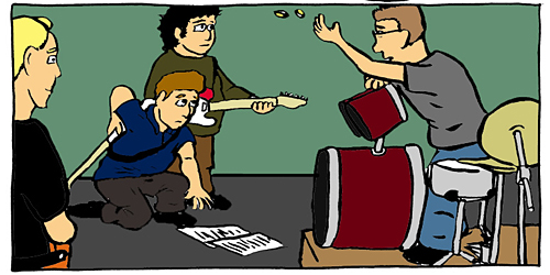Nowhere Band Strip #15 Panel 3
