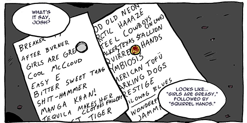 Nowhere Band Strip #15 Panel 5