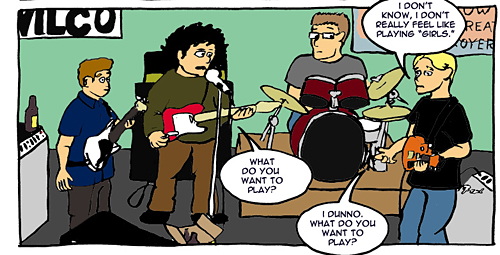 Nowhere Band Strip #15 Panel 6