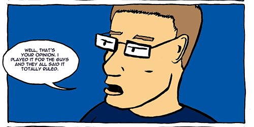Nowhere Band Strip #16 Panel 4