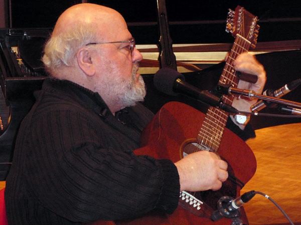 Singer/Songwriter Peter Lang