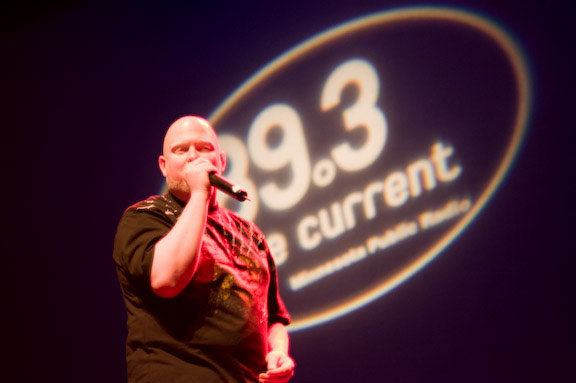 Brother Ali performs at the The Current's April, 2008 Fakebook