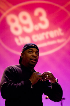 Public Enemy founder, writer and activist Chuck D