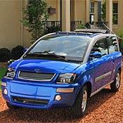A ZENN car