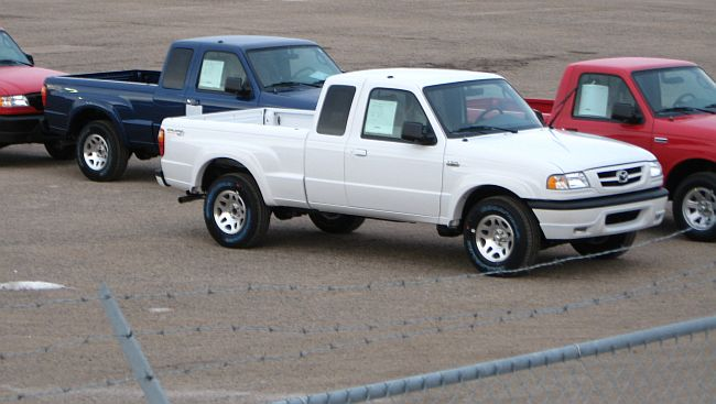Ford manufacturers the Ranger pickup truck at its St. Paul plant.  The plant is scheduled to close Sep. 30, 2009.