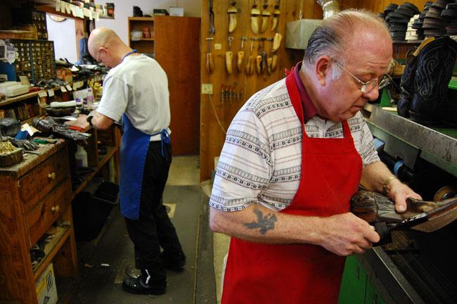 Brass Tokyo | World's Coolest Shoe Repair Shop | A Continuous Lean