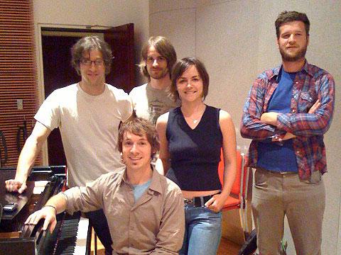 Chris Koza and his band
