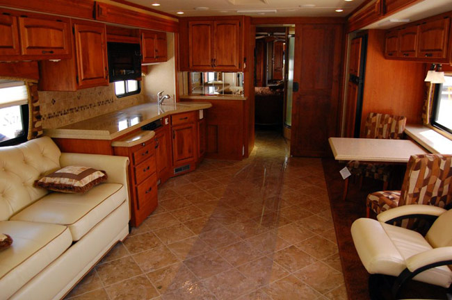 This RV is priced at $189,000.