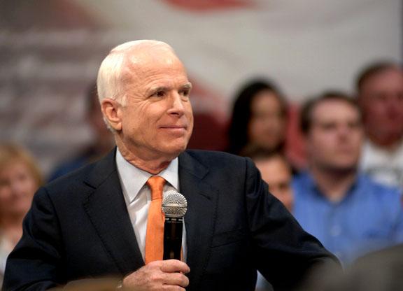 John McCain in Town Hall Mode