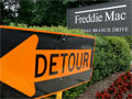 A Freddie Mac sign in front of its headquarters