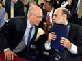 Bernanke, Cox testify at Senate hearing