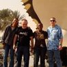 Four soldiers in Qatar