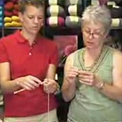 Knitting lesson video by Jimmy Beans Wool