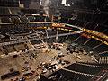 Construction at the Xcel Center for the RNC