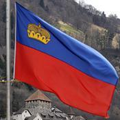 Liechtenstein's flag