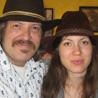 Alela Diane and her father, Tom Menig.