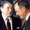 Ronald Reagan and George Bush, Sr.