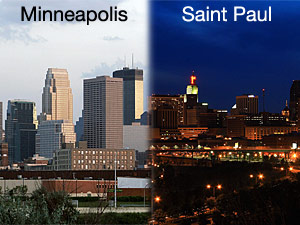 St. Paul counts down to the Republican National Convention, but why do people keep thinking the event is happening in Minneapolis?