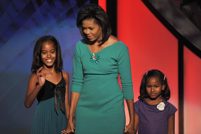 Michelle Obama and the Obama children