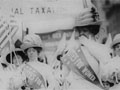 Feminist Suffrage Parade in New York City,