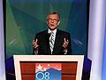 Sen. Tom Daschle speaks at the DNC