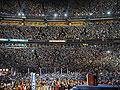Over 75,000 supporters greet Barack Obama