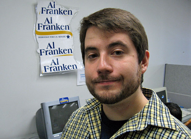 Al Franken campaign spokesman Andy Barr.