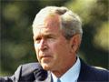 President Bush departs the White House