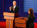Sen. Joe Biden answers a question at the debate