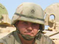 Sgt. Adam Gray during his tour in Iraq