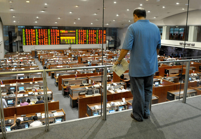 stock exchange wall street. Philippine Stock Exchange