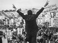 Richard Nixon on the campaign trail in 1968