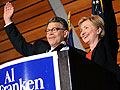 Hillary Clinton campaigning for Al Franken
