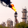 The Texas Petrochemicals flare