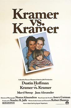 Kramer vs. Kramer won the Academy Award for Best Picture in 1979.