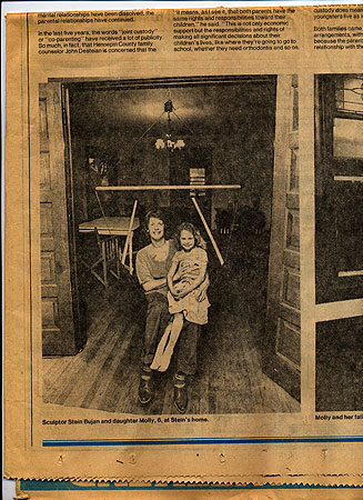 Molly Brom and her mother, Nancy Stein, were featured in the Minneapolis Tribune in 1979. (Photo provided by Brom family)