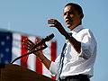 Obama campaigns in Iowa