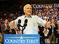 John McCain campaigning in Florida
