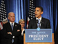 President-elect Obama holds first press conference