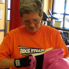 Mary Yeman works out at Rock Steady Gym