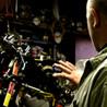 Steve Hamel in his garage