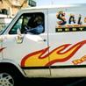 Sal e Brasa Delivery Van