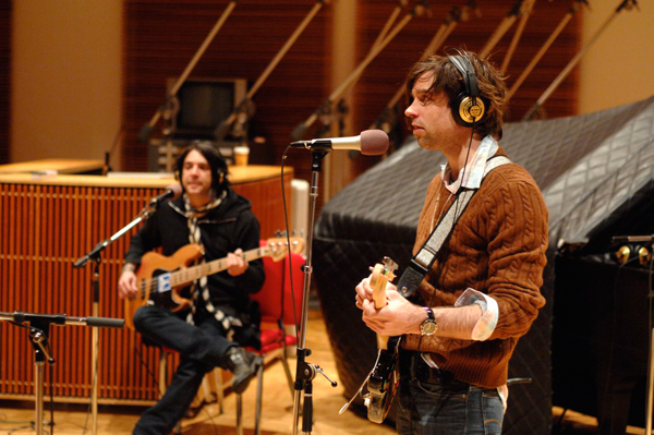 Bassist Chris Feinstein and Ryan Adams