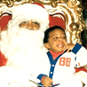 Jay Hollowell with Santa