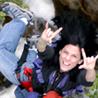 Paula Pisani Bungee Jumping