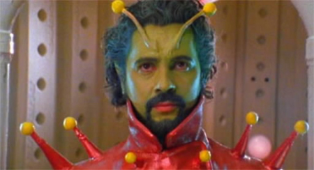 Wayne Coyne as The Martian in