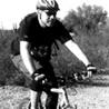 Charles Wommack on his bike