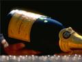 Veuve Clicquot poured