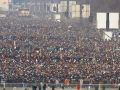Crowds gather for Inauguration